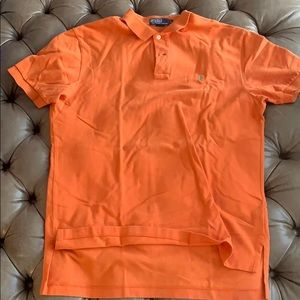 Orange polo Ralph Lauren